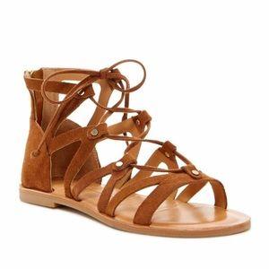 Dolce vita suede gladiator sandals size 12